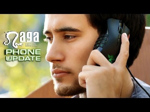 Razer Naga Phone - World's First Gaming Mouse Phone