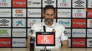 """Vicente Moreno: """"Nos jugamos mucho y queremos estar a la altura"""""""