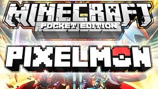 Pixelmon - MOD - Minecraft PE - [0.14.0/0.15.0] - DOWNLOAD