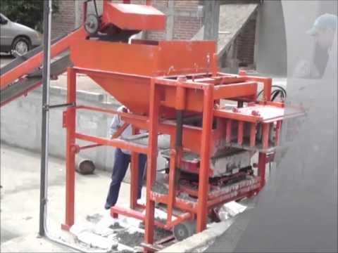 Maquina bloquera hidraulica, carvel maquinaria