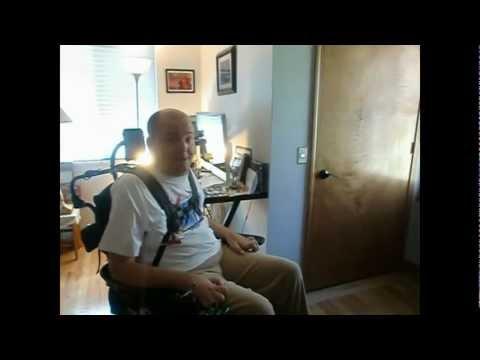 Colorado Quadriplegic Demonstrates Home Accessibility Solutions.avi