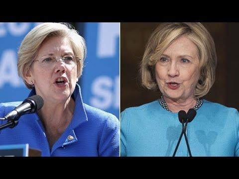 Hillary Clinton Is Sounding Like Elizabeth Warren