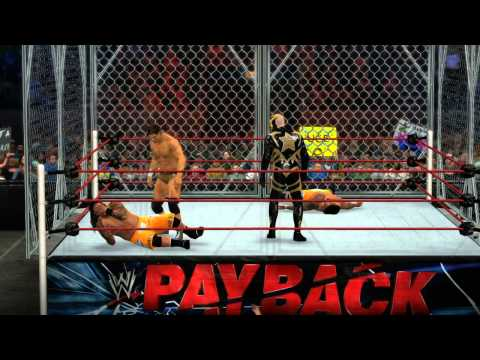 Wwe 2k15 - The Uso Vs The Brotherhood - Steel Cage Match video