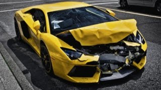 WRECKED! Lamborghini Aventador Crashes on the Streets of Vancouver!