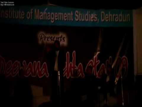 Ashish Anal  Ims , Dehradun 1.mp4 video