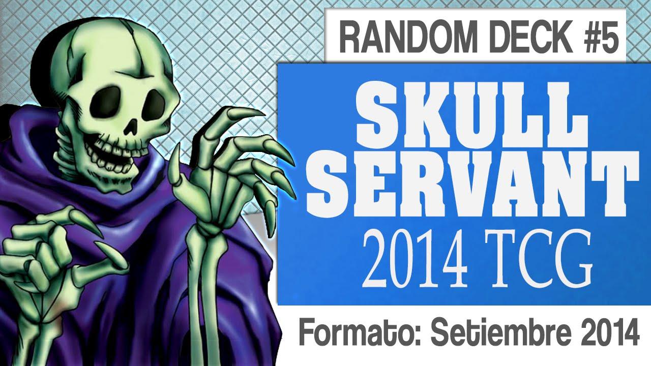 Yugioh Skull Servant Deck Random Deck 5 Skull Servant