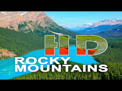 THE ROCKY MOUNTAINS , CANADA - WALKING TOUR - 2011 - HD 1080P