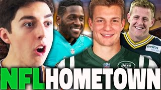 WHAT IF EVERY NFL PLAYER PLAYED FOR THEIR HOMETOWN TEAM? MADDEN 17 FRANCHISE