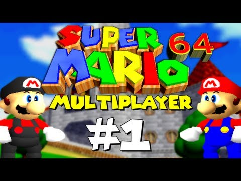 Super Mario 64 Multiplayer w/ Chilled and Ze! (Part 1)