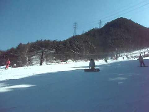2011スキー検定の練習