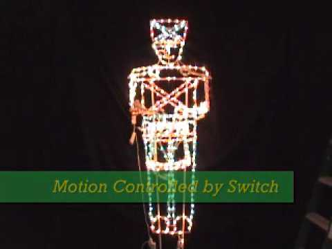 Holiday Bright Lights 3D Drummer Boy