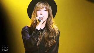 [HD] 141003 SNSD TTS - Cater 2 U (Tiffany focus) FANCAM
