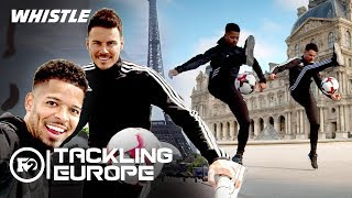 HIGHEST Soccer Freestyle Ever!? | F2 Freestylers Trick Shots In Paris