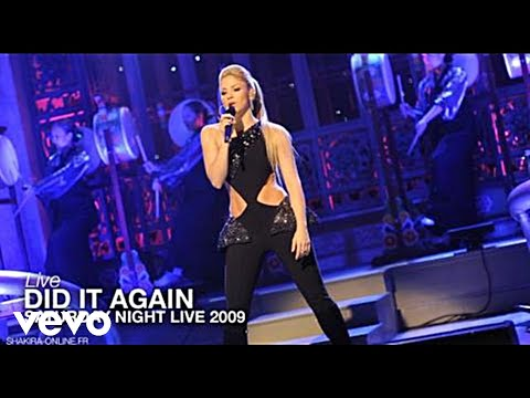 Shakira ~  Did It Again (Live Dancing With The Stars) [HDTV]