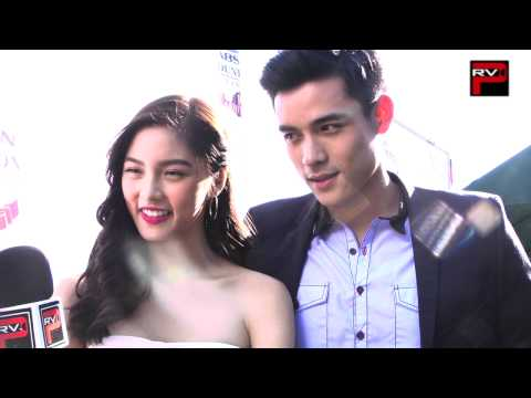 The Full interview with Kim Chiu and Xian Lim at ABS CBN 10yr Foundation Event