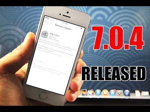 iOS 7.0.4 Released For iPhone. iPad & iPod Touch - Safe To Update?