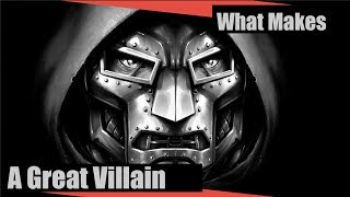 What Makes A Great Villain