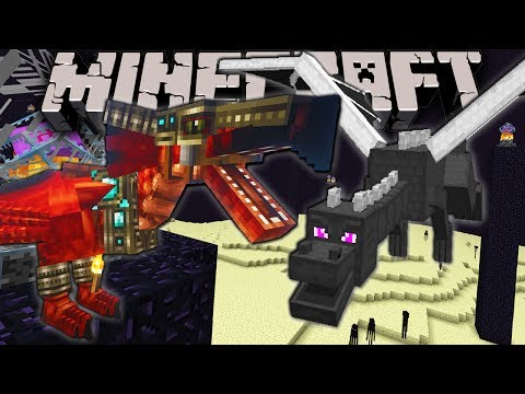 Minecraft: Zoo Keeper - Wyvern VS Ender Dragon! Ep.20 Dragon Mounts, Mo' Creatures, Shaders Mod
