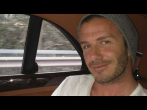 David Beckham arrives in China: Beckham's football ambassador job