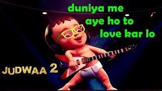 download lagu Duniya Mein Aaye Ho Song  Judwaa 2  gratis