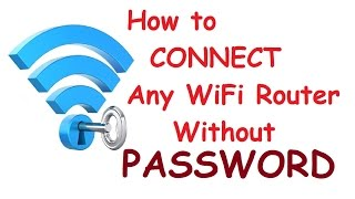 100 Working How To Connect Any WiFi Connection Without Password Hindi Life Hack