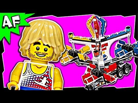 Lego City FAIRGROUND MIXER 10244 Expert Creator Stop Motion Build Review