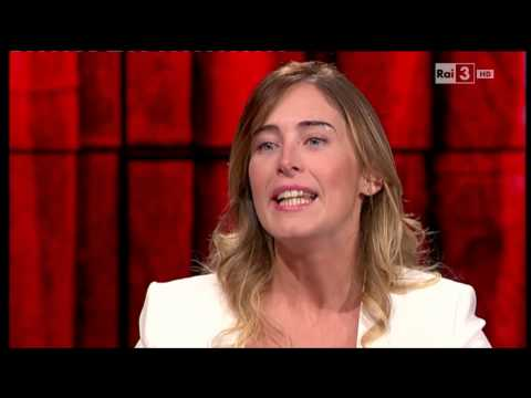 Maria Elena Boschi a Che tempo che fa del 26/10/2014