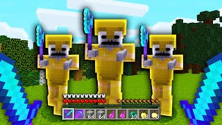 this NEW Minecraft BOSS MOB drops the RAREST items on this skyblock server.. (INSANE)