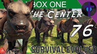 HYAENODON TAMING - Ark Survival Evolved - The Center - XBOX ONE - Ep 76