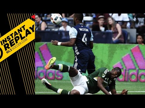 Instant Replay: Nagbe gets crunched in Cascadia rivalry
