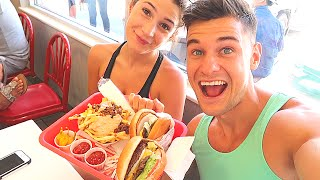 Irish Couple's First Time Trying In-N-Out Burger !