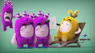 Oddbods Toys 💚❤️💙 Show #43 learn colors Kinder Kids💙💚 lernen Farben lustig  Cartoon Deutsch 2019