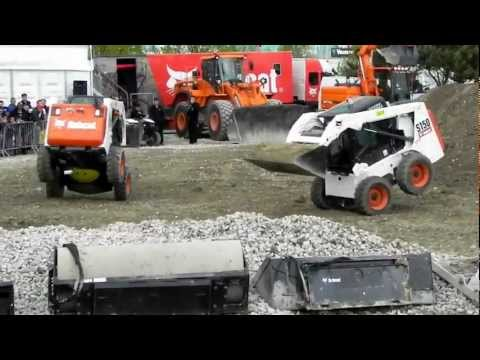 spectacle bobcat intermat 2012