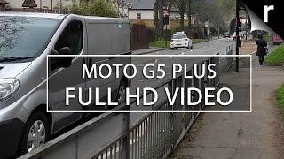 Moto G5 Plus camera video test (Full HD 30fps)