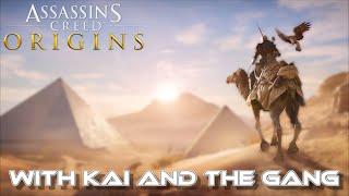 Assassin's Creed Origins ~ Egyptian Madness Ep.1 W/Doug + Keith