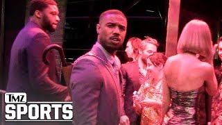 Michael B Jordan Says No To Conor McGregor In 'Creed 3' | TMZ Sports