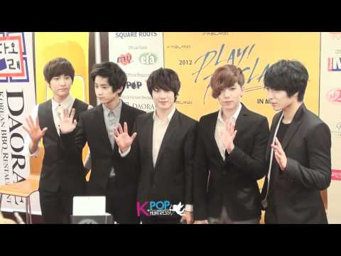 [120114] Press Conference 2012 Play FT Island in Malaysia - Photo Session