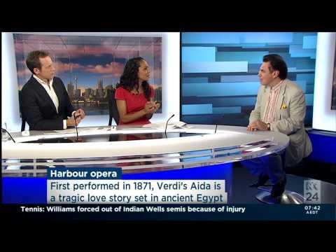 Lyndon Terracini interviewed on ABC Weekend Breakfast