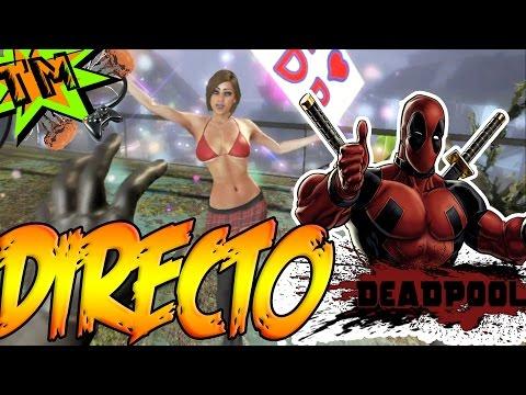 Estupido Y Sensual Deadpool  [+18]  Directo  (humor Negro Y Sexual) video