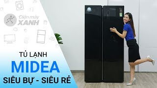 Tủ lạnh Midea 584 lít MRC 690SS - Giá cực rẻ đến từ Midea   Điện máy XANH