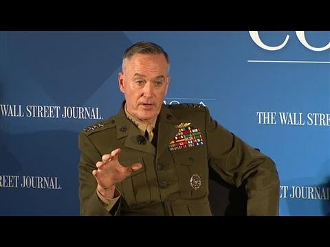 General Dunford on His Leadership Style