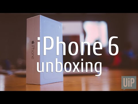 Распаковка iPhone 6 (Unboxing)   UkrainianiPhone.com
