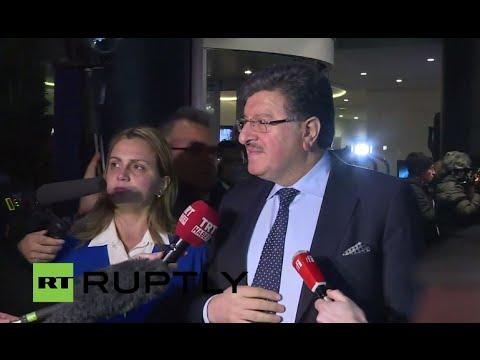LIVE: Main Syrian opposition delegation arrive in Geneva for peace talks