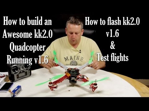 How to build the awesome kk2.0 - 2.1 quadcopter by RCTV-UK