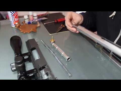 L96 Breakdown Tutorial - Bolt & Cylinder Removal / Upgrade - Pt 3