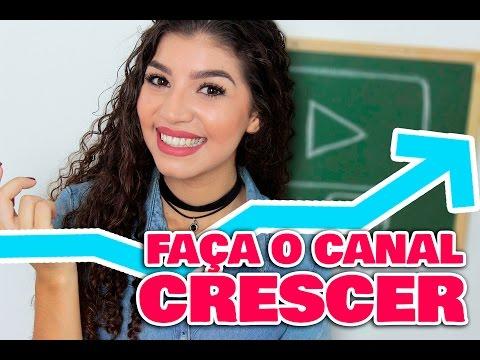 DICAS DE COMO FAZER O CANAL CRESCER | Por Jessica Melo thumbnail