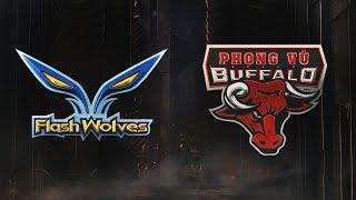 MSI 2019: Fase de Grupos - Dia 5 | Flash Wolves x Phong Vũ Buffalo (14/05/2019)