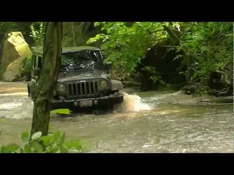 2011 Jeep Wrangler Unlimited Off-Roading!