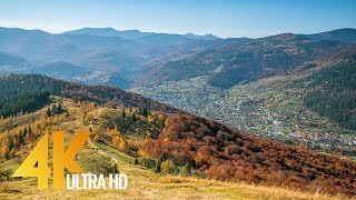 Autumn in the Ukrainian Carpathians - 4K Nature Documentary Film - Part 1