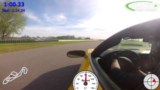 C5z at National Corvette Museum Motorsports Park, 2:24.34  Attorney Eric Yow